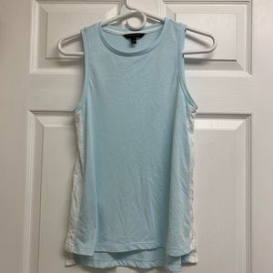 🌵Banana Republic Blue & White Tank Top